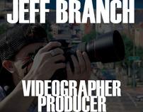 Jeff Branch 2011 Video Reel
