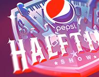 Super Bowl Pepsi Halftime Logo