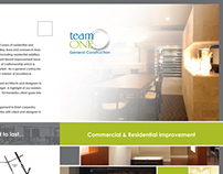 Team One Construction Brochure