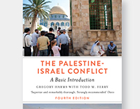 Cover for the 4th ed. of The Palestine-Israel Conflict
