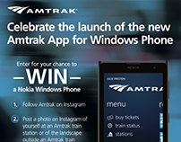 Amtrak Mobile App Launch