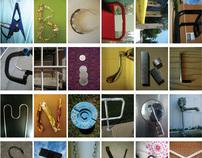 Photographic Alphabet : Metal