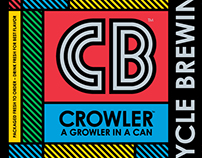 Cycle Brewing Crowler Can