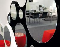 Bubbles mirror for Calligaris