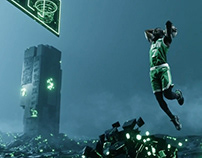 BOSTON CELTICS - BLEED GREEN