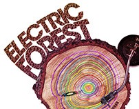 Electric Forest 2015 Poster Design
