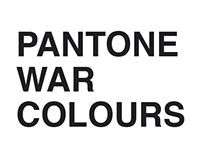 Pantone war colours