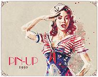 PIN-UP / illustrations