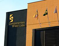 Identidade visual Componentes Brasil Ltda.