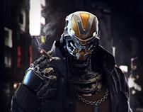 Cyberpunk Character Bust_02