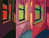 Color Study of Light Changes in a Day