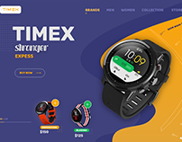 Watch Store Ecommerce Design -- UI / UX
