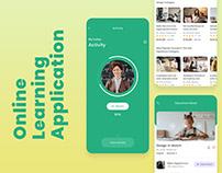 Latest Online Learning Platform UI Design