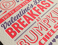 Bumpkin Valentine's Day Breakfast