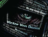 Doctor Doom Typography Poster