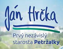 Jan Hrčka – the Mayor