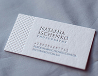 Brand for photographer Natasha Ischenko