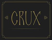 """Crux"" font presentation"