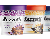 Lezzetli - Turkish-style Ice Cream Packaging Design
