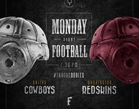 """COWBOYS vs REDSKINS """"MNF"""""""