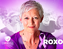 Fevereiro Roxo - Cardiovale