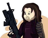 Winter soldier (Marvel Cinematic Universe MCU)