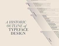 Timeline of Typeface Design