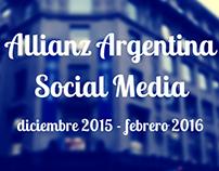 Allianz Argentina - Social Media Management