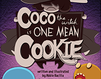 Coco the Witch is One Mean Cookie - Children's Book