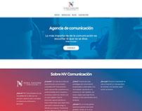 NV Comunicación website