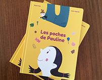 LES POCHES DE PAULINE / HANNAS HOSENTASCHE Kinderbuch