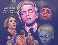 """""""Village of the Damned"""" (1960) Tribute Poster"""