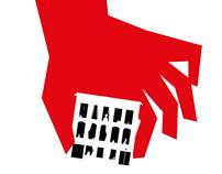 Studentenwohnheim Jägersberg 14: Plakate gegen Auszug!