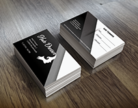 Hairdresser Business Card Design