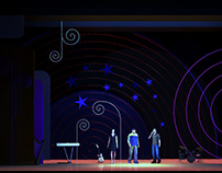 scenography for musical concert