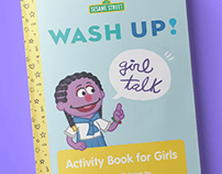 Sesame Street Activity Book Design