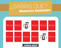 ¿Sabías qué? Memorice Santander