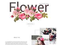 Floristics store website