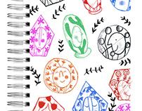 Ecojot competition sketchbook cover