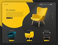 Furniture Shop Web design