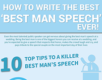 "How To Write The ""Best Man Speech"" Ever [Infographic]"
