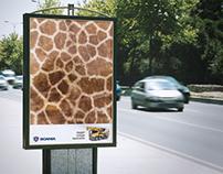 Creative ad for Scania