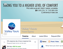 Valley Tours - Social Media Marketing