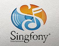 Singfony Entertainment - Logo -