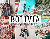 Free Bolivia Mobile & Desktop Lightroom Presets
