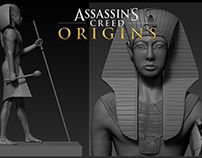 Assassin's Creed Origins - Tutankhamun statue