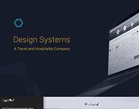 Design System- A Travel/Hospitality Company