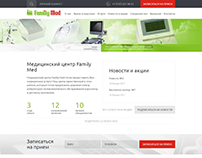 "Сайт для медицинского центра ""Family Med"""