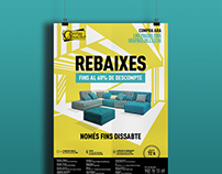 Posters for sales campaign for Galerias del Tresillo