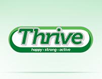 Thrive Pamflet Design